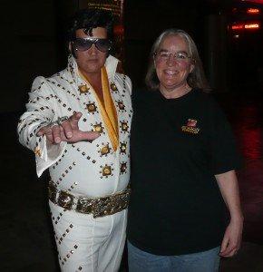 Elvis & my wife